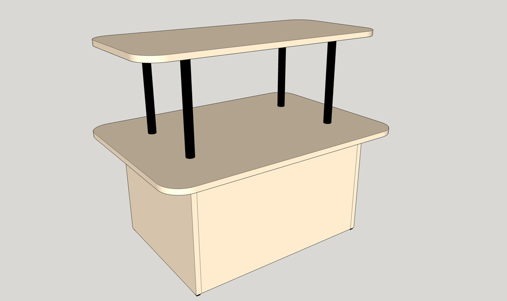 Stewart's-Display-Table-DT2-36_Side-View